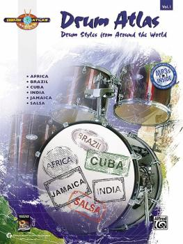 Drum Atlas: Volume 1: Drum Styles from Around the World (AL-00-33496)