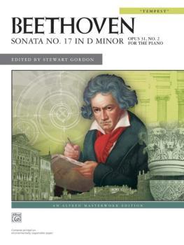 """Sonata No. 17 in D Minor, Opus 31, No. 2 (""""Tempest"""") (AL-00-27904)"""