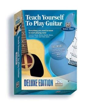 Alfred's Teach Yourself to Play Guitar: Everything You Need to Know to (AL-00-21930)