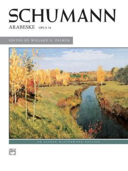 Arabeske, Opus 18 (AL-00-3298)