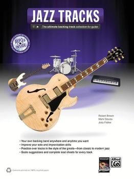 Jazz Tracks: The Ultimate Backing Track Collection for Guitar (AL-00-38894)