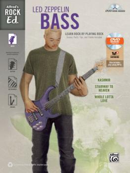 Alfred's Rock Ed.: Led Zeppelin Bass: Learn Rock by Playing Rock: Scor (AL-00-41012)
