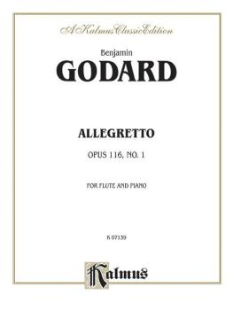 Allegretto for Flute and Piano, Opus 116 (AL-00-K07139)