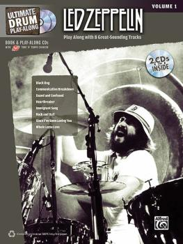 Ultimate Drum Play-Along: Led Zeppelin, Volume 1: Play Along with 8 Gr (AL-00-32416)