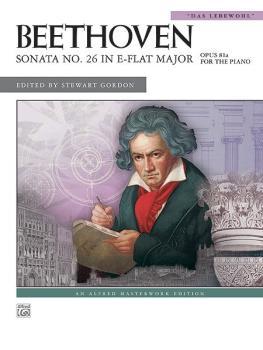 "Sonata No. 26 in E-flat Major, Opus 81a (""Das Lebewohl"") (AL-00-36282)"