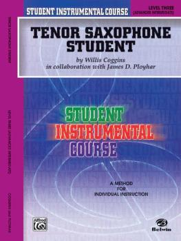 Student Instrumental Course: Tenor Saxophone Student, Level III (AL-00-BIC00336A)