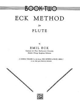 Eck Flute Method, Book II (AL-00-EL00105)