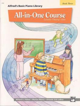 Alfred's Basic All-in-One Course, Book 3 (Lesson * Theory * Solo) (AL-00-5742)