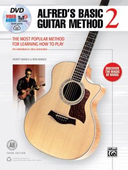 Alfred's Basic Guitar Method 2 (Third Edition): The Most Popular Metho (AL-00-45307)