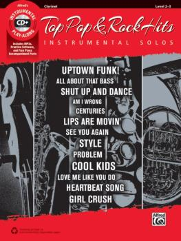 Top Pop & Rock Hits Instrumental Solos (AL-00-45098)