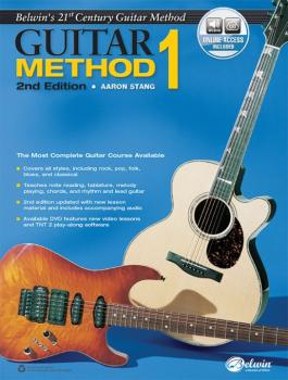 Belwin's 21st Century Guitar Method 1 (2nd Edition): The Most Complete (AL-00-44445)