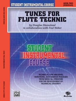 Student Instrumental Course: Tunes for Flute Technic, Level II (AL-00-BIC00203A)