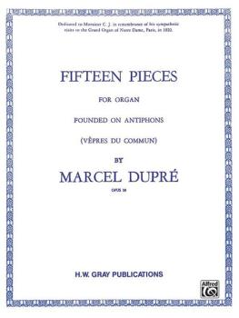 Fifteen Pieces (Vepres du Commun), Opus 18 (Complete) (AL-00-GB00188)