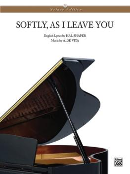 Softly As I Leave You (AL-00-T3940SPV)