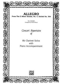 Allegro (from <I>E Minor Sonata #4</I>) (AL-00-WS0006)
