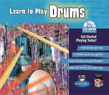 Learn to Play Drums: Get Started Playing Today! (AL-00-22605)