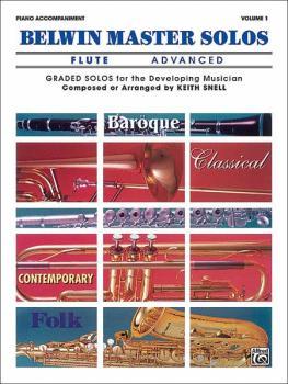 Belwin Master Solos, Volume 1 (Flute) (AL-00-EL03393)