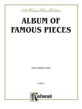 Album of Famous Pieces for Clarinet (AL-00-K02077)