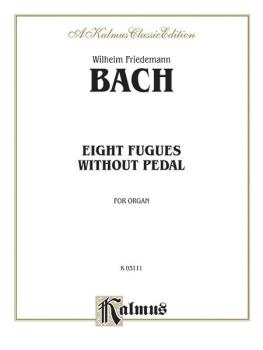 Eight Fugues Without Pedal (AL-00-K03111)