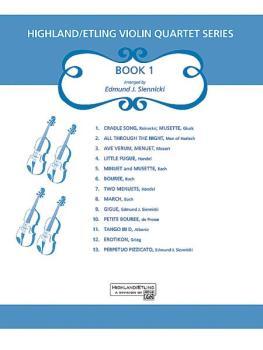 Highland/Etling Violin Quartet Series: Set 1 (AL-00-12548)