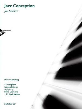 Jazz Conception: Piano Comping: 21 Complete Transcriptions as Played b (AL-01-ADV14739)