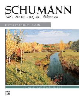 Fantasie in C, Opus 17 (AL-00-4843)