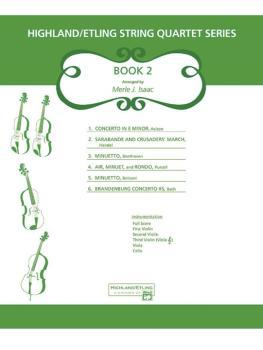 Highland/Etling String Quartet Series: Set 2 (AL-00-12524S)