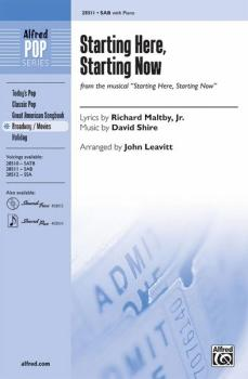 Starting Here, Starting Now (From the Musical <i>Starting Here, Starti (AL-00-28511)
