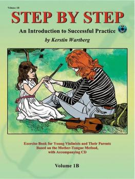 Step by Step 1B: An Introduction to Successful Practice for Violin (AL-00-20300X)