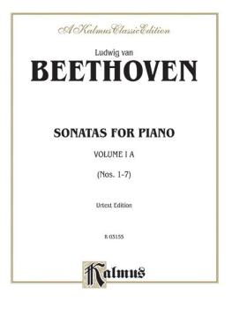 Sonatas, Volume IA, Nos. 1-7 (Urtext Edition) (For Advanced Piano) (AL-00-K03155)