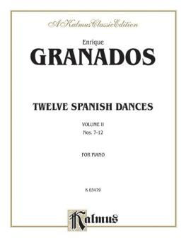 Twelve Spanish Dances, Volume II (Nos. 7-12) (AL-00-K03479)