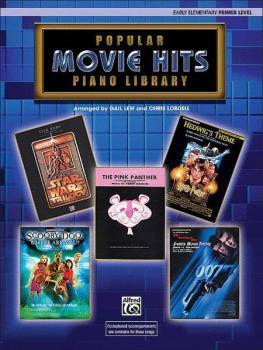 Popular Piano Library: Movie Hits, Primer Level (AL-00-ELM05005)