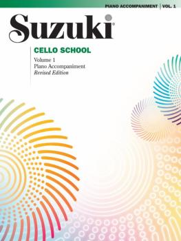 Suzuki Cello School Piano Acc., Volume 1 (Revised) (AL-00-0480S)