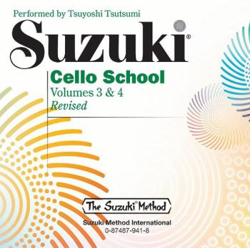 Suzuki Cello School CD, Volume 3 & 4 (AL-00-0941)