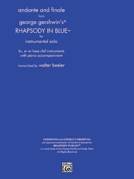 <I>Rhapsody in Blue,</I> Andante and Finale from (AL-00-TS0008)