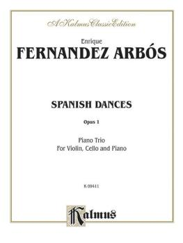 Spanish Dances, Opus 1 (AL-00-K09411)