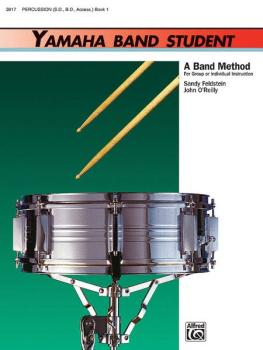 Yamaha Band Student, Book 1: A Band Method for Group or Individual Ins (AL-00-3917)