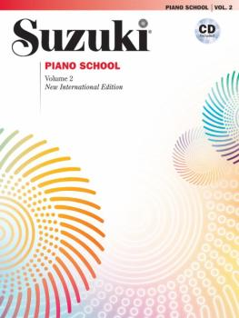 Suzuki Piano School New International Edition Piano Book and CD, Volum (AL-00-30032)