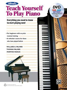 Alfred's Teach Yourself to Play Piano: Everything You Need to Know to  (AL-00-45045)