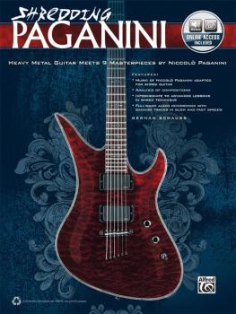 Shredding Paganini: Heavy Metal Guitar Meets 9 Masterpieces by Niccolo (AL-00-37468)
