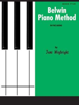 Belwin Piano Method, Book 5 (AL-00-EL02009)
