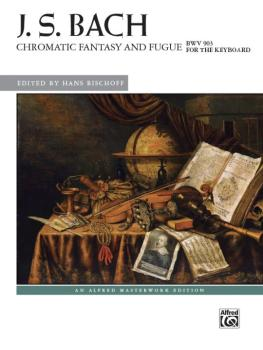 Chromatic Fantasy and Fugue, BWV 903 (AL-00-44322)
