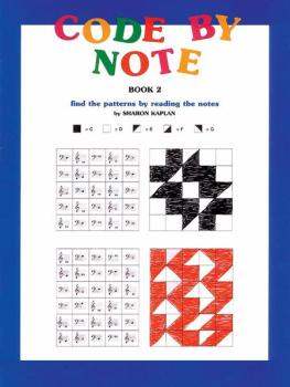 Code by Note, Book 2: Find the Patterns by Reading the Notes (AL-00-EL9552)