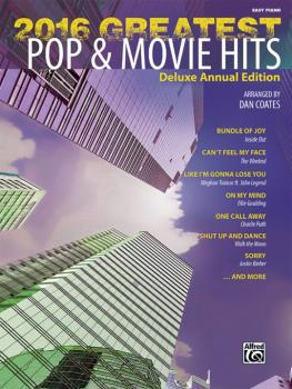 2016 Greatest Pop & Movie Hits: Deluxe Annual Edition (AL-00-45265)