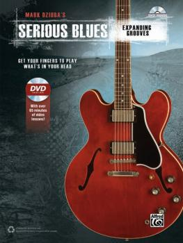 Mark Dziuba's Serious Blues: Expanding Grooves: Get Your Fingers to Pl (AL-00-42453)