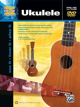 Alfred's MAX™ Ukulele Method: See It * Hear It * Play It (AL-00-38984)