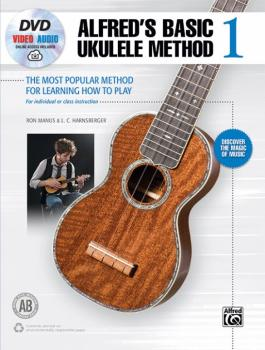 Alfred's Basic Ukulele Method 1: The Most Popular Method for Learning  (AL-00-46015)