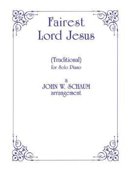 Fairest Lord Jesus (AL-00-PA01178)
