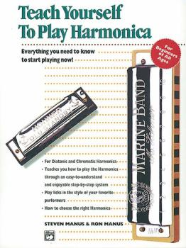 Alfred's Teach Yourself to Play Harmonica: Everything You Need to Know (AL-00-4650)