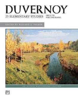 25 Elementary Studies, Opus 176 (AL-00-636)